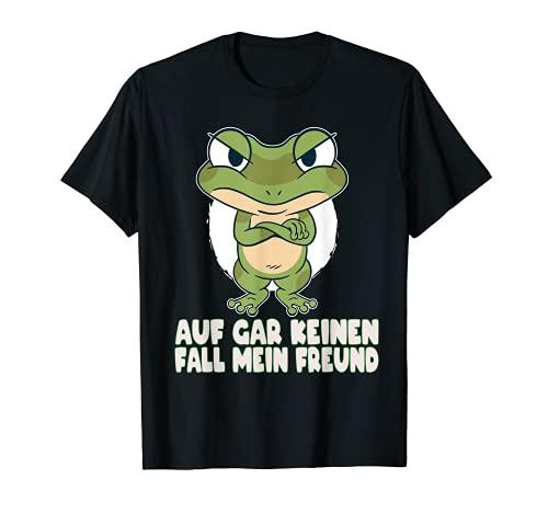 Frosch Spruch Fun böser Frosch Geschenk lustiger Spruch T-Shirt