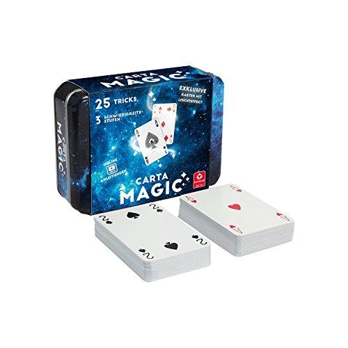 """Cartamundi 22567070-"""" Carta Magic-25 Tricks Kartenspiel, Zauberkarten"""