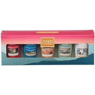 Customer reviews Yankee Candle 5 Votive Gift Set (Just Go.):Amedama