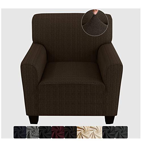 ZNSAYOTX Fundas para sillas con Brazos para Sala de Estar Fundas de protección para Muebles de sillón de Spandex de Alta Elasticidad...