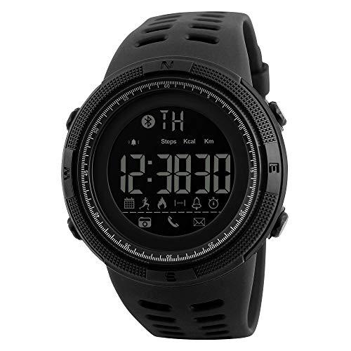 SKMEI Brand Men's Smart Sport Watch New Bluetooth Calorie Pedometer Fa