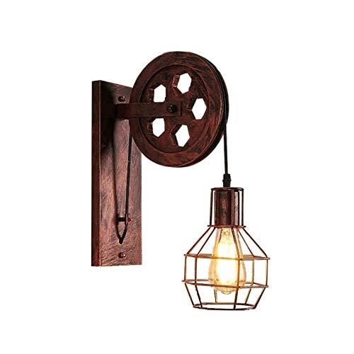 Lámparas de pared de estilo industrial retro 20 pulgadas Lámpara de pared...