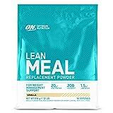 Optimum Nutrition Lean Meal Replacement, Polvo Multivitaminas Rico en Proteínas con Minerales, Vainilla, 18 Porciones, 918 g, Embalaje Puede Variar