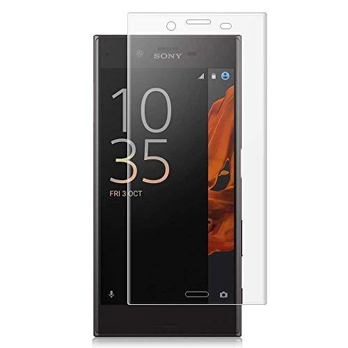 [2 pezzi] Pellicola Vetro Temperato Sony Xperia XZ Premium,Cover completa 3D ,Pellicola Protettiva in Vetro Temperato 9H Durezza,0,33mm HD Alta trasparente.Trasparente (Sony Xperia XZ Premium)