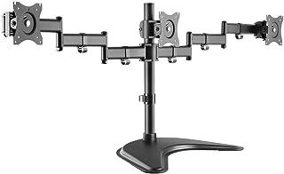 "Brasforma SBRM730 Suporte Articulado para 3 Monitores LED e LCD de 13-27"", Preto"
