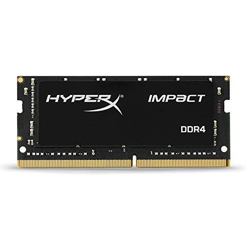 Kingston HyperX Impact HX424S14IB/16 Memoria RAM da 16GB, DDR4, PC 2400, Nero