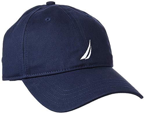 Nautica Men's Twill 6-Panel Cap, Navy, One Size
