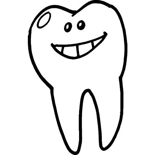 Azeeda A8 'Lächelnder Zahn' Stempel (Unmontiert) (RS00029292)