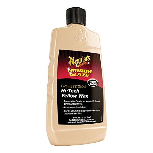 Meguiar's M2616 Mirror Glaze Hi-Tech Yellow Wax, 16 Fluid Ounces, 1 Pack