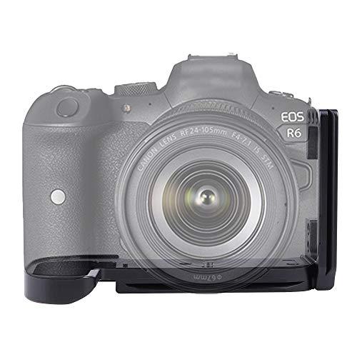 FOTGA PRO - Soporte extensible vertical para disparo rápido con soporte en forma de L, con imán para cámara Canon EOS R5 R6, compatible con Arca-Swiss Standard