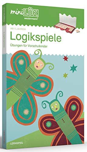 miniLÜK-Sets: miniLÜK Logikspiele Übungen für Vorschulkinder: Kasten + Übungsheft/e / Vorschule: Logikspiele (miniLÜK-Sets: Kasten + Übungsheft/e)