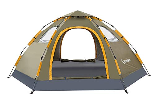 Wnnideo Instant Family Tent Automatic Pop Up Tents for Outdoor Sports...