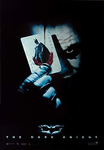 1art1 Batman Poster - The Dark Knight, Le Chevalier Noir, Joker Carte A Jouer (98 x 68 cm)