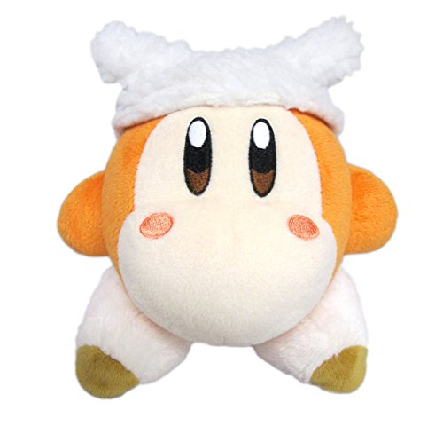 Little Buddy Kirby's Adventure All Star Collection-Waddle Dee Sheep Stuffed Plush Dolls, 5.5'