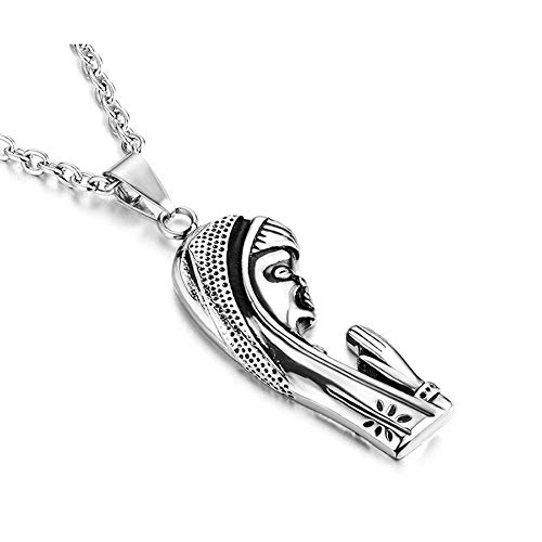 UMtrade Religious Jewelry Women Stainless Steel Christian Christ Serenity Prayer Necklace
