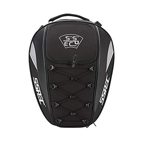 knowledgi - Bolsa para sillín de Moto, multifunción, Impermeable, Bolsa de Deporte
