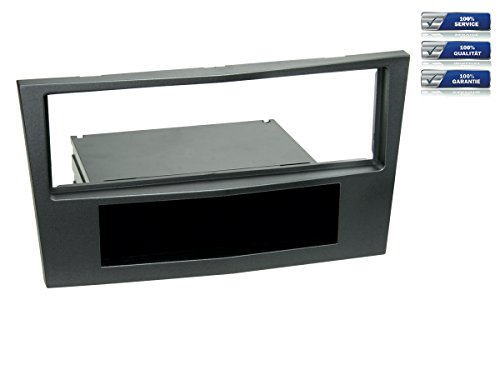 1-DIN Radioblende für Opel Antara / Astra H / Zafira B *charocal metallic*