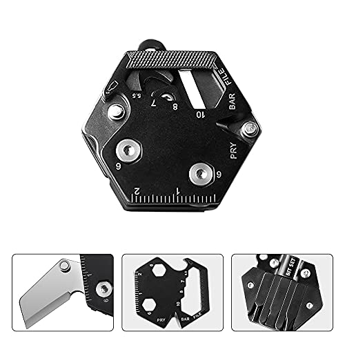 EDC Multi Tool,Gadgets for Men, Perfect Gifts for Men ,Suitable for Office, Home, Camping, etc Takes up no Space and is Easy to use