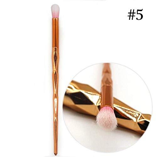 GONGFF Les Bases de Maquillage de Poudre fondent la Poudre cosmétique de Blush de Fard à paupières composent des Trousses à Outils de Brosse, G