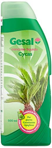 GESAL Concime Liquido per Cycas, Per Piante rigogliose, 500 ml