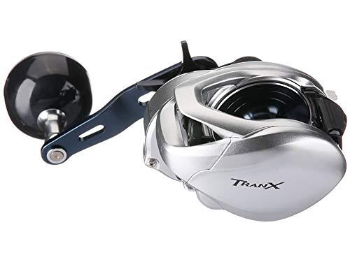 Shimano TRANX 300A, Mano Destra Mulinello Baitcasting con Double Handle, TRX300A
