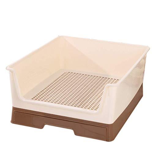 WYYAF ruim huisdier toilet, lade type hond wc hek anti-stepping grote automatische urinoir doorspoelen artefact gemak (kleur: blauw)