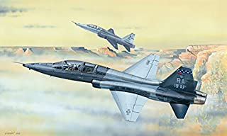 Trumpeter 1/48 Scale Northrop T-38C Talon American Jet Trainer Aircraft Plastic Model Kit # 02877
