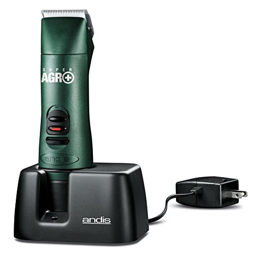 Andis Vet Pak Detachable Blade Clipper Kit for Veterinarians, Professional Equine and Livestock Grooming, AGR+ (65340)
