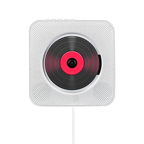 Brteyes Leitor de CD Bluetooth para uso doméstico, reprodutor de música de CD pré-natal, sistema de alto-falantes para gravidez, reproduz música para pré-natal e pré-natal, presente para crianças e meses