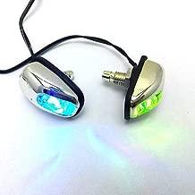 FidgetGear Colorful Led Light Windshield Glass Water Jet Spray Spout Nozzle Wiper Washer