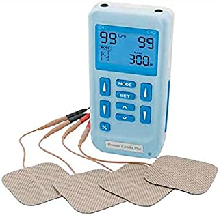 Premier Plus Rechargeable TENS Machine for Pain Relief - Combined with Muscle & Neuromuscular Simulation - 24 clinically Approved programmes