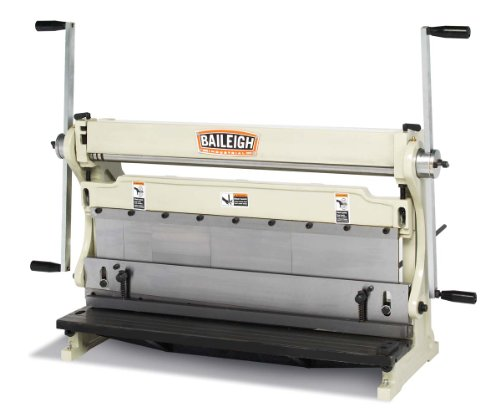 Find Cheap Baileigh SBR-3020 3-in-1 Combination Shear Brake Roll Machine, 30 Bed Width, 20-Gauge Mi...