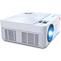 Jasipaa WXGA 6500-Lumens Portable Mini Movie Projector