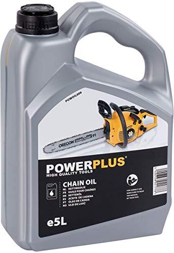POWERPLUS POWOIL006 - Aceite cadena motosierra 5l