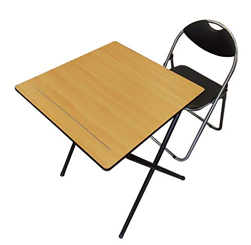 Exam Schreibtisch Studium, Klassenzimmer, Marktstand, Expo Laptop Computer Klapptisch Stuhl Set