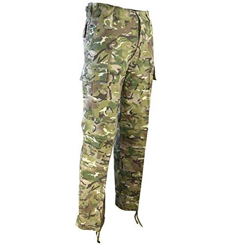 Kombat UK - M65 BDU - Ripstop - Pantalon - Homme - Multicolore (camouflage) - Taille: 42