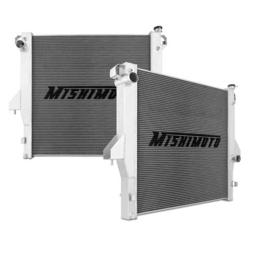 Mishimoto MMRAD-RAM-03 Performance Aluminum Radiator Compatible With Dodge Ram Cummins 5.9L/6.7L 2003-2009