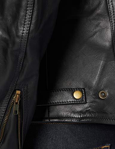 STURGIS (Monza Naked Rindsleder CE und belüftet Motorrad Jacke schwarz schwarz XXXX-Large - 5