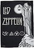Heart Rock Bandiera Originale LED Zeppelin Stairway To, Tessuto, Multicolore, 110x75x0.1 cm