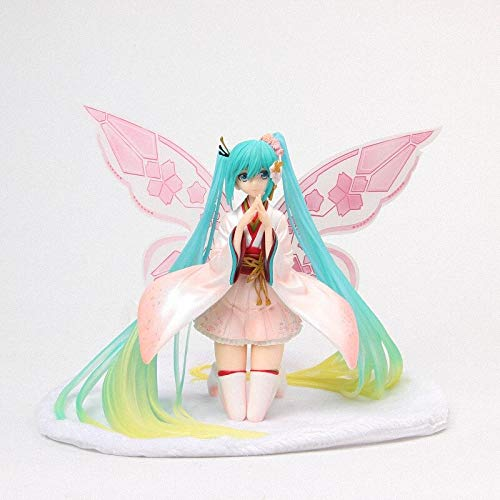 Yvonnezhang Anime Good Smile Racing Kimono Ver. Hatsune Miku Tony Butterfly Schöne Statue Abbildung Modell Spielzeug
