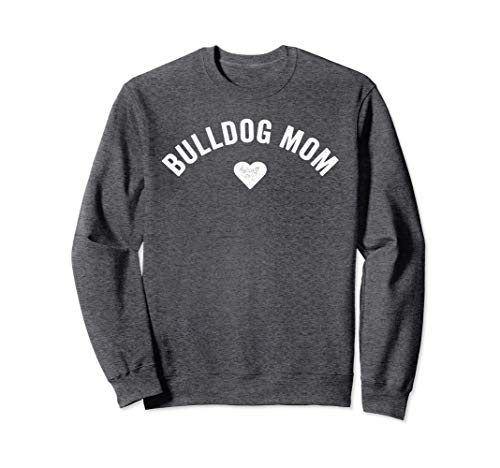 Vintage Cute Funny Dog Mama French English Bulldog Mom Sweatshirt
