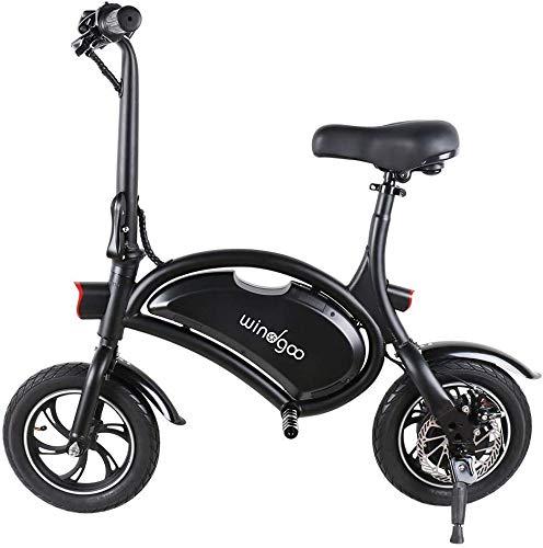 Windgoo Bicicletta Elettrica, E-Bike, Bicicletta Elettrica Pieghevole,Ruota 12'', LG 36V/4.4Ah, Motore 350 W, velocità Max 30 Km/h (B15) (B15)