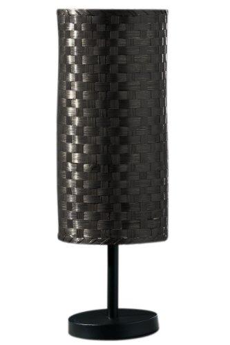Premier PREM-2500970 tafellamp, bamboe/metaal, zwart