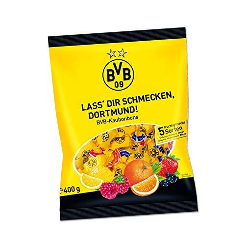 Borussia Dortmund Kaubonbon, Bonbon ähnlich Kaugummi 5 Sorten BVB 09 (L)