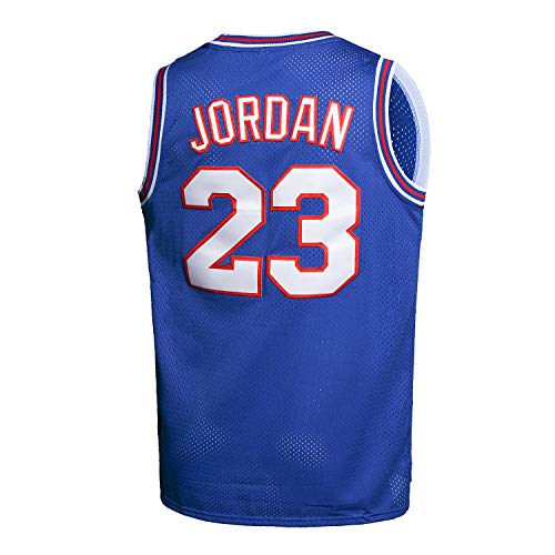 Mens Jam Movie Jersey Basketball God 23 Sport Adult Jersey Blue Size XL
