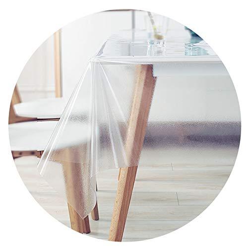 Mate Mesa Paño Cubierta Impermeable A Prueba de Aceite Vinilo El Plastico Durable Hogar Flacidez Natural Protección Integral, 0,5 mm Espesor, 23.6X47 Pulgadas GHHQQZ