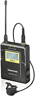 Saramonic 96-Channel Bodypack Transmitter Unit - TX9 (UwMic9 Lavalier Microphone)