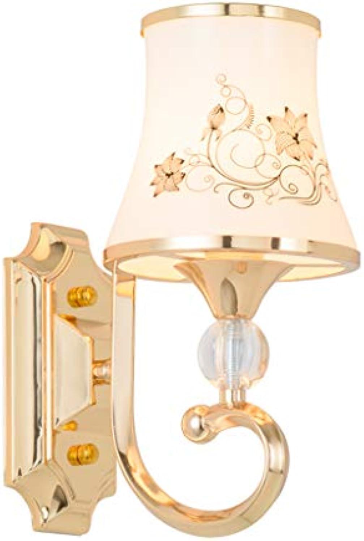 LED Harz Wandleuchte Schlafzimmer Wohnzimmer Nachttischlampe Wandleuchte Flur Gang E27
