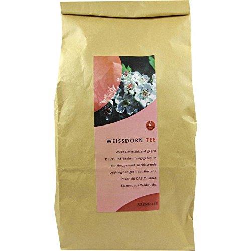 weltecke Weißdorntee Weißdornblätter mit Blüten, 300 g Tee