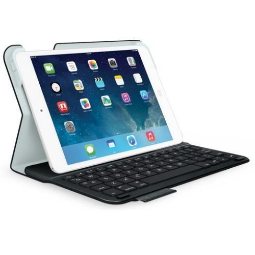 Logitech Ultrathin Keyboard Folio m1 for iPad mini Carbon Black (QWERTY, Spanisches Tastaturlayout)